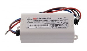 ZASILACZ 12-48V 350mA 16,8W MEAN WELL APC-16-350
