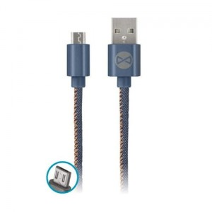 Kabel micro-USB jeans 1m 2A