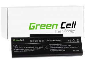 Bateria 10,8V 6600 mAh Green Cell AS82
