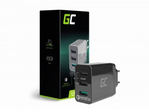 Ładowarka 3xUSB Quick Charge 3.0 Green Cell
