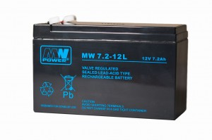 Akumulator MW Power MW 7,2-12L 12V 7,2Ah