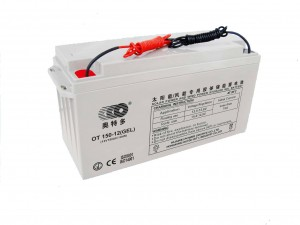 AKUMULATOR ŻELOWY GEL DEEP CYCLE HT POWER OT150-12LW 12V 150AH Z KABLAMI