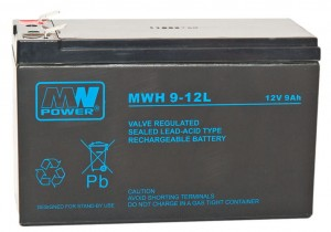 Akumulator MW Power MWH 9-12L 12V 9Ah