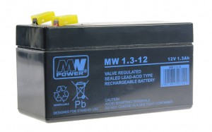Akumulator MW Power MW 1,3-12 12V 1,3Ah