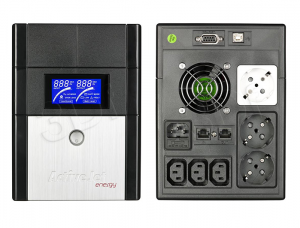 ActiveJet UPS AJE-1600 LCD LCD/USB/RS232/6xGN.ZAS.
