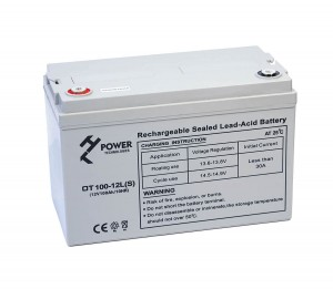 AKUMULATOR ŻELOWY GEL HT POWER OT100-12LS 12V 100AH M8