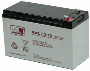 Akumulator MW Power MWL 7,2-12L 12V 7,2Ah