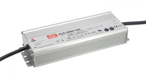 Zasilacz 12V 22A 264W MEAN WELL HLG-320H-12A