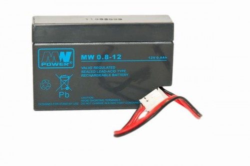 Akumulator MW Power MW 0.8-12 12V 0,8Ah