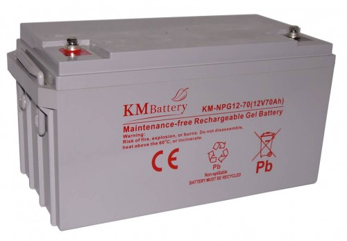 Akumulator KM BATTERY KM-NPG12-70 12V 70Ah