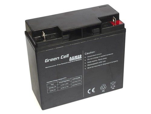 Akumulator Green Cell 12V 18Ah